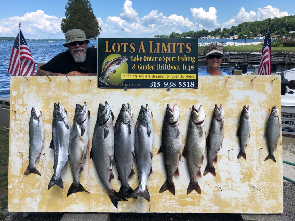 JULY FISHING REPORT
